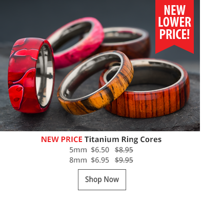 Titanium Rings New Price