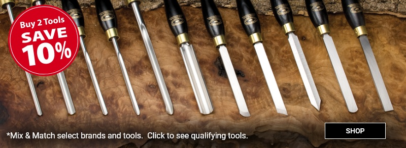 Buy 2 select tools save 10 percent