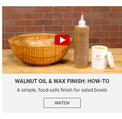 Walnut Oil and Wax Video