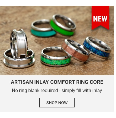 Artisan Inlay Comfort Ring Core