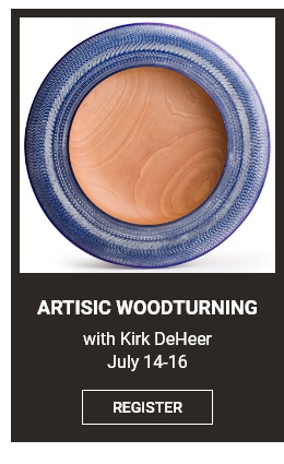 Artistic Woodturning Workhop