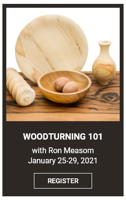 Woodturning 101 with Ron Measom