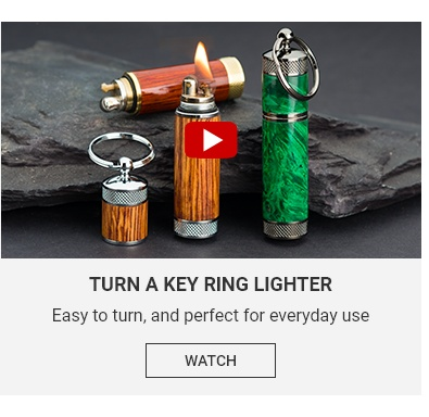Turn a Key Ring Lighter Video