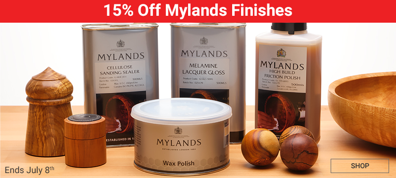 15% Off Mylands Finishes - Ends July 8
