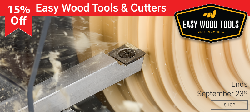 15% Off Easy Wood Tools