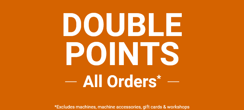 Earn Double Points on all orders