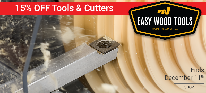 15% Off Easy Wood Tools and Cutters