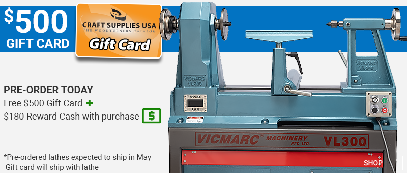 $500 gift card with VL300 Purchase