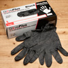 GlovePlus Black Nitrile Gloves - 100 Pack