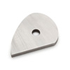 Robert Sorby M2 HSS Replacement Tear Drop Shear Scraper Blade