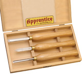 Apprentice Pen Turners Tools 3 Piece Set