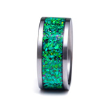 Artisan Crushed Opal Emerald Green