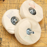 "Beall 4"" Buffing Wheel 3 Piece Set"