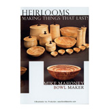 Bowlmaker Inc Making Heirlooms That Last by Mike Mahoney DVD