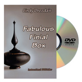 Cindy Drozda Fabulous Finial Box DVD