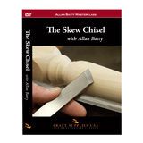 Craft Supplies USA The Skew Chisel by Allan Batty DVD