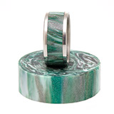 DiamondCast Ring Blank Emerald Isle