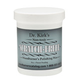 Dr Kirks Scratch FREEE Woodturners Polishing Wax