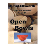 Ellsworth Open Bowls by David Ellsworth DVD