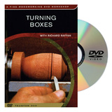 Taunton Press Turning Boxes DVD