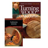 Fox Chapel Turning Wood by Richard Raffan Book & DVD Combo