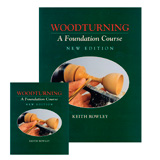 Fox Chapel Woodturning: A Foundation Course by Keith Rowley Book & DVD Combo