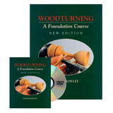 GMC Publications Woodturning A Foundation Course Book and DVD Set
