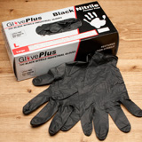 GlovePlus Black Nitrile Gloves