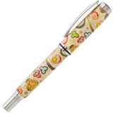 Hobble Creek Craftsman Florentine Print Paper Jr Gent  Pen Blank