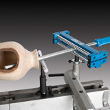 Carter Hollow Roller Captive Hollow Turning System w/ Mounting Stud