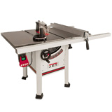 JET 10 Inch ProShop Table Saw 1-3/4 HP 30 Inch Fence Cast Wing JPS-10