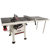 "JET 10"" ProShop Table Saw 1-3/4 HP 52"" Fence Cast Wing JPS-10"