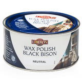 Liberon Fine Wax Polish Black Bison