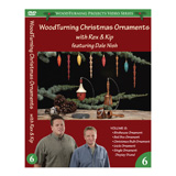Learning Turning Woodturning Christmas Ornaments Volume VI