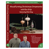 Learning Turning Woodturning Christmas Ornaments Volume V