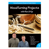 Learning Turning Woodturning Projects Volume I by Rex Burningham and Kip Christensen DVD