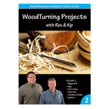 Learning Turning Woodturning Projects Volume II by Rex Burningham and Kip Christensen DVD