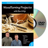 Learning Turning Woodturning Projects Volume 2 DVD