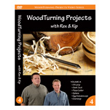 Learning Turning Woodturning Projects Volume IV by Rex Burningham and Kip Christensen DVD