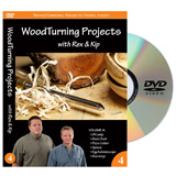 Learning Turning Woodturning Projects Volume 4 DVD
