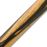 Pen Makers Choice Exotic Pen Blanks Black/White Ebony