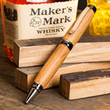 Pen Makers Choice Makers Mark Whiskey Barrel Pen Blank w/ Authenticity Certificate