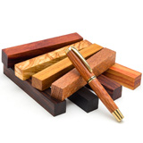 Pen Makers Choice Rare Wood Pen Blank Collection 8 Piece Set