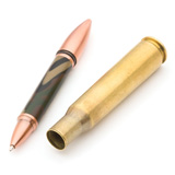 PSI 50 Caliber Machine Gun Cartridge Flip Pen Kit