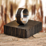 Turners Choice Ancient Bog Oak Ring Blank