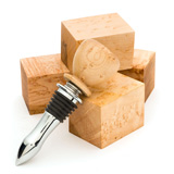 Turners Choice Bottle Stopper Blanks - 5 Pack Birdseye Maple