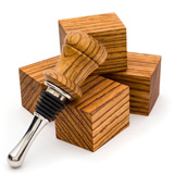 Turners Choice Bottle Stopper Blanks - 5 Pack Zebrawood