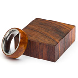 Turners Choice Exotic Ring Blank Desert Ironwood
