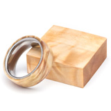 Turners Choice Stabilized Ring Blank Figured Poplar