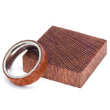 Turners Choice Stabilized Ring Blank Leopard Wood